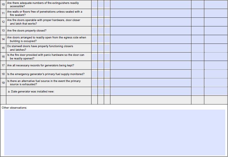 Contoh Lembar Checklist Amdal Gedung