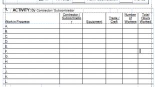 contoh bentuk laporan qc